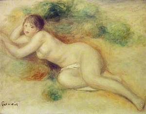 Nude Figure of a Girl