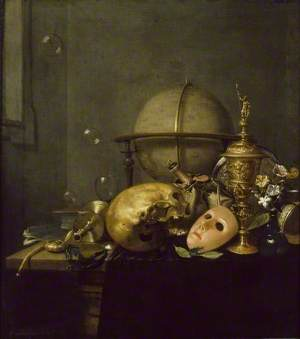 Still Life with Mask