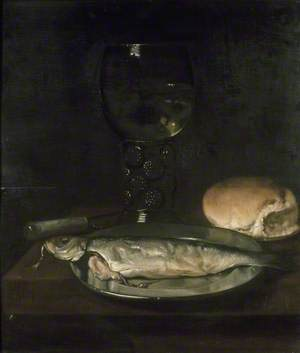 Still Life with a Herring