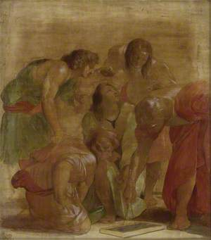 The Archimedes Group from 'The School of Athens'