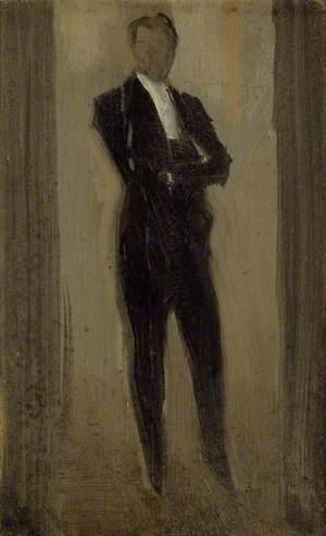 Portrait of a Man in Evening Dress