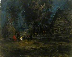 Sketch of a Russian Village