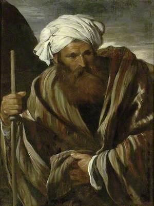 A Male Figure in Middle Eastern Dress