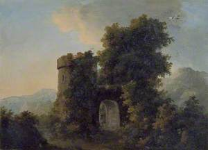 Landscape with a fortified Gateway