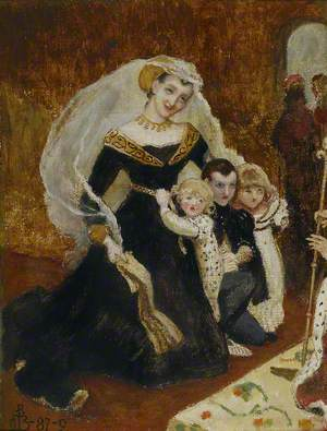 Lady Rivers and her Children