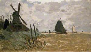 A Mill near Zaandam