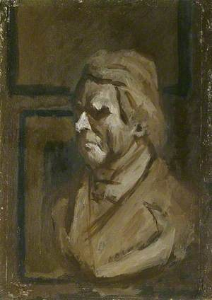 Bust of John Ruskin after the Marble Bust by J. E. Boehm in the Ruskin School of Drawing