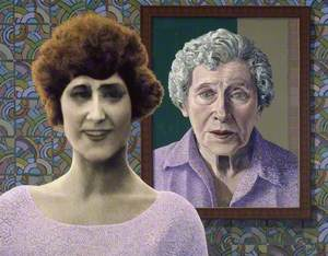 The Artist's Mother at 18 and 88