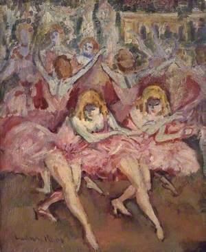 Danseuses roses (Dancers in Pink)
