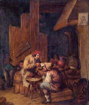 Interior of an Ale House