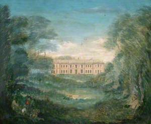 View of Hartwell House, Buckinghamshire
