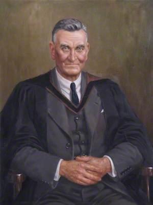 Mr Luscombe, Headmaster of Banbury Municipal School (1893–1934)