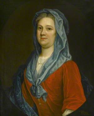 Mrs Russell (d.1764), Second Wife of the Governor of Fort George, Widow of George Revett, Daughter of John Thurbarne