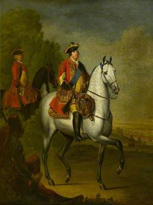 William Augustus (1721–1765), Duke of Cumberland on a Grey Charger