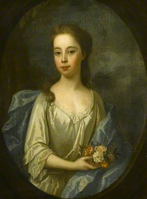 Mary Joanna Cutts Revett of Chequers (1707–1764), Wife of Colonel Charles Russell