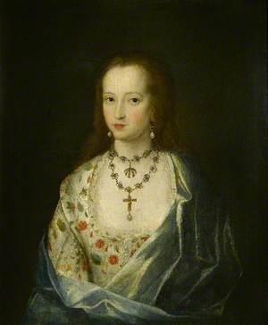 Anne Hawtrey, Wife of John Saunder, Daughter of Sir William Hawtrey