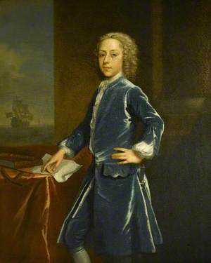 Midshipman Sir Thomas Frankland