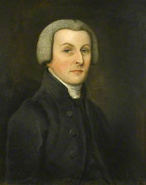 Portrait of a Gentleman in a Black Coat