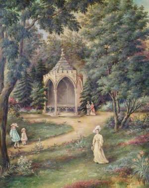 Landscaped Woodland Park of the Throckmorton Family