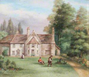 Berkhamstead Rectory, Hertfordshire, Birthplace of William Cowper