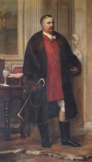 Albert Brassey, Esq. (1844–1914), MA, JP, MFH, MP of Heythrop Park