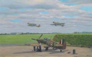 1 Squadron Hurricanes, RAF Northolt