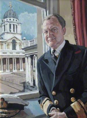 Rear Admiral N. J. Wilkinson (b.1941), CB