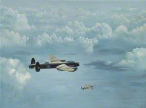 Lancasters over the Sea, Destination Cologne