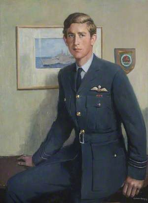 HRH The Prince of Wales (b.1948), as Flight Lieutenant