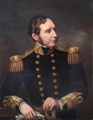 Vice-Admiral Robert Fitzroy (1805–1865), FRGS