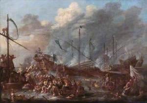 The Battle of Lepanto, 7 October 1571