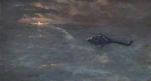 'Coventry's' Lynx Attack on 'MV Smollera'