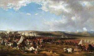 The Charge of the Heavy Brigade, Balaklava, Ukraine, 1854