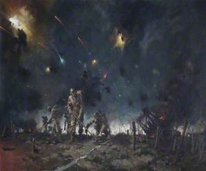 The Royal Engineers Clearing the Mine Fields at the Start of the Battle of El Alamein, 23 October 1942