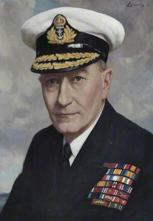 Admiral of the Fleet Sir John H. D. Cunningham (1885–1962), GCB, MVO, First Sea Lord and Chief of Naval Staff (1946–1948)