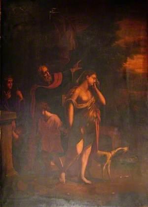 Abraham Banishing Hagar and Ishmael