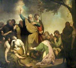 St Paul Preaching to the Ancient Britons