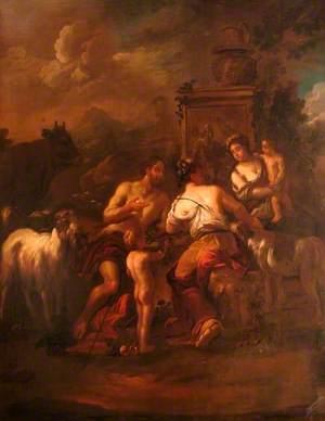 Neoclassical Scene
