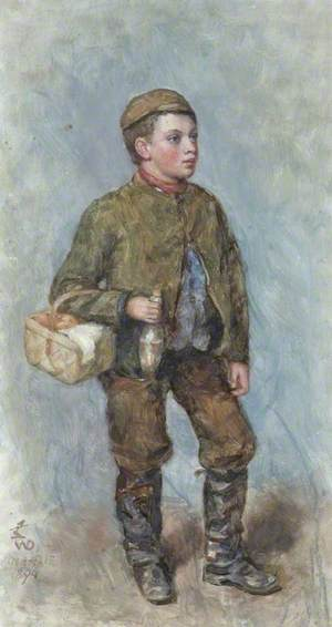 A Boy with a Picnic