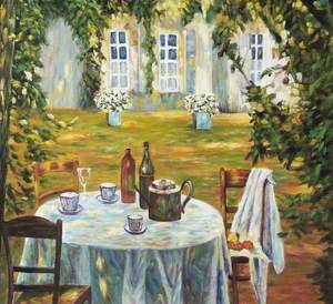 Table at a Château