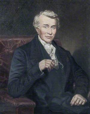 Reverend John Scott (1792–1868), First Principal (1851–1868)
