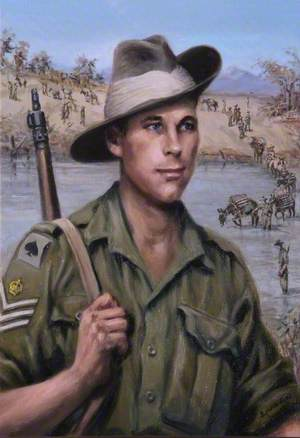 CQMSR Ford, 6th Battalion, Burma, 1944