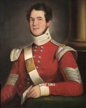 A Company Sergeant Major of the 43rd (Monmouthshire) Light Infantry