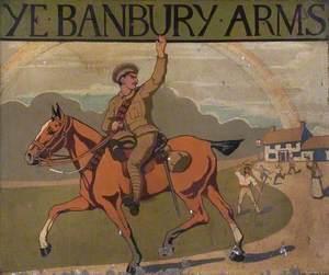 Ye Banbury Arms Sign