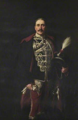 Arthur Annesley (1843–1927), 11th Viscount Valentia, CB, MVO, DL, JP, MP for Oxford City (1890–1911), Chairman of Oxfordshire County Council (1890–1911), Colonel, Queen's Own Oxfordshire Hussars