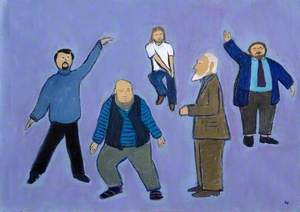 Bearded Academics Dancing