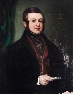 Portrait of a Gentleman Holding a Letter