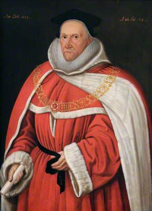 Sir Thomas Fleming (1544–1613), Judge, Aged 64