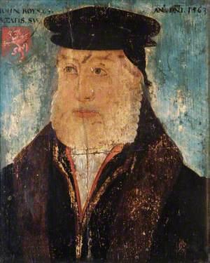 John Roysse (c.1500/1501–1571), Aged 63