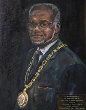 Councillor John Brooks (b.1935), BEM, JP, Town Mayor of Banbury (2005–2006)